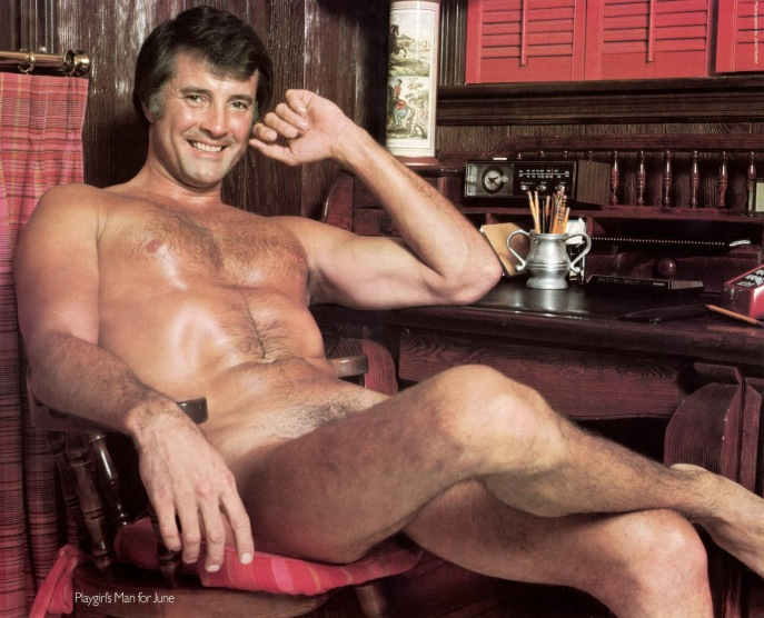 Lyle Waggoner Playgirl centerfold