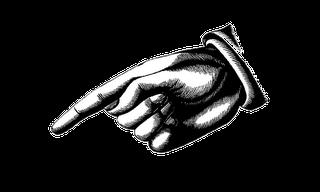 finger pointing