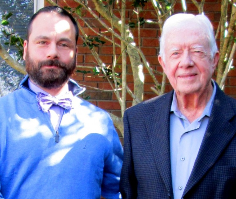 Me and Jimmy Carter