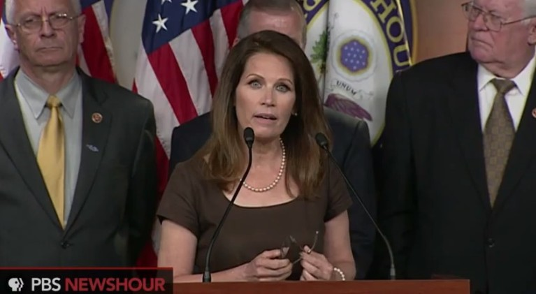 Michele Bachmann, douchebaguette and professional quitter
