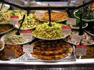 vegan food (via Wikimedia)
